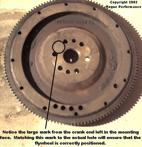 Forgot to mark the flywheel before you pulled it?  Don't worry!  I have a 'cheat' for that!